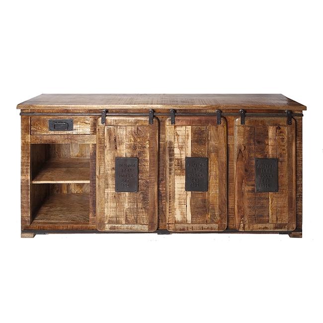 hutch wide for bars shipped kitchen basements industrial island custom sliding barn bar canada home acacia products rustic door