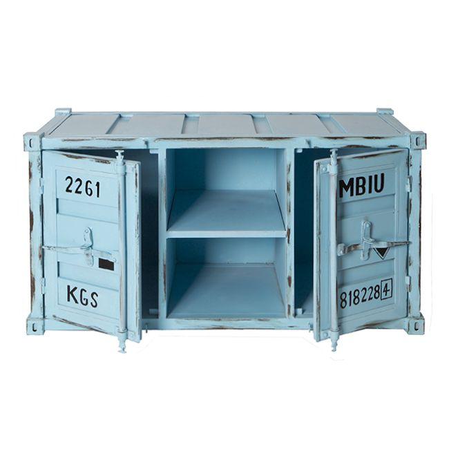 meubles d inspiration container en acier solide design industriel. Black Bedroom Furniture Sets. Home Design Ideas