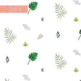 Couverture en mousseline - Bambou - Olé Hop - Vert botanique