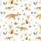 Couverture en mousseline - Bambou - Olé Hop - Fins renards
