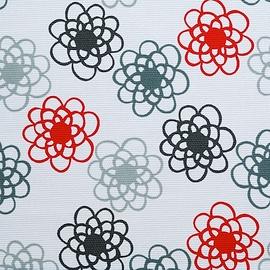 Coussin multifonctionnel - Nneka - Fleurs contemporaines