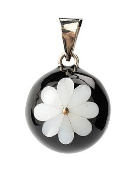 Bola - Noir avec fleur