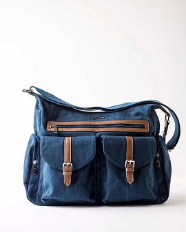 Satchel - Little Unicorn - Denim