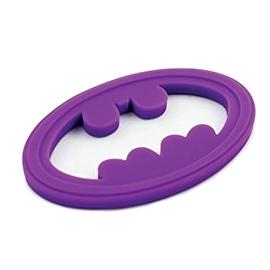 Jouet de dentition- Batman mauve