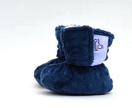 Pantoufles bleues - Bébé Ô Chaud - Diverses grandeurs