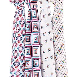 Couvertures en mousseline - Paquet de 4- Aden + Anaïs - Flip side