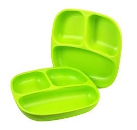 Assiette divisée - Re-Play - Vert lime