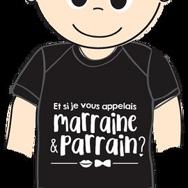Cache-couche - Parrain/marraine - Gris