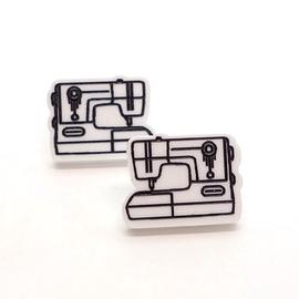 Boucles d'oreilles Lilipop machine à coudre