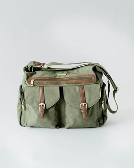 Satchel - Little Unicorn - Olive