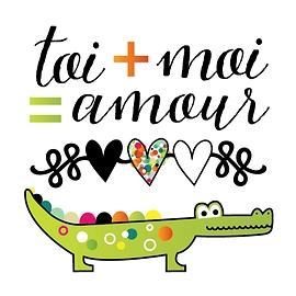 Crocodile d'amour - Pico tatouages