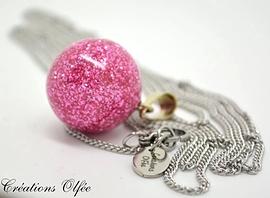 Bola - Rose scintillant - Olfée
