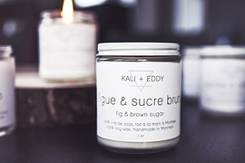 Chandelle - Figue et sucre brun - Kali & Eddy