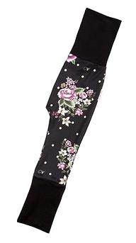 Pantalon évolutif - Coton Vanille - Fleurs