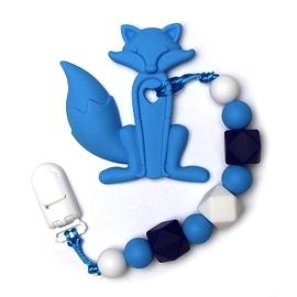 Jouet de dentition - Renard bleu