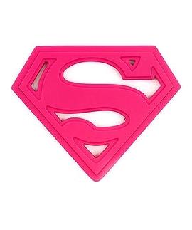 Jouet de dentition - Superman rose