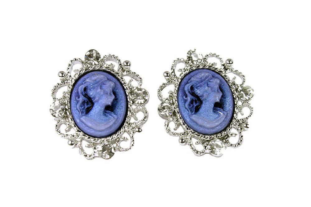 Bleu Camée Scrupuleamp; Boucles D'oreilles Cie DH92WEIY